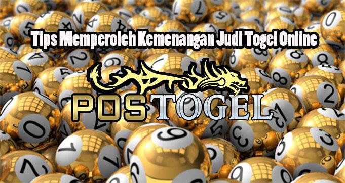 Tips Memperoleh Kemenangan Judi Togel Online